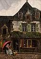 Helen Mabel Trevor RHA (1831-1900) The Old House, Pont-Aven