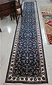 HAND KNOTTED ORIENTAL HALL CARPET, Indo-Persian,