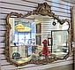 LARGE FRENCH ROCOCO STYLE WALL MIRROR, American,