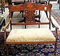 LATE VICTORIAN SETTEE, American, c. 1900, having a