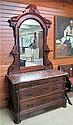 A VICTORIAN WALNUT DRESSER, Renaissance Revival,