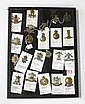COLLECTION OF 22 BRITISH CAVALRY BADGES including