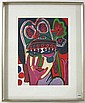 CORNEILLE COLOR LITHOGRAPH (Dutch, 1922-2010)