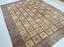 A CONTEMPORARY HAND KNOTTED ORIENTAL CARPET, hand