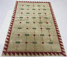 A CONTEMPORARY ORIENTAL AREA RUG, Nepal, hand knot
