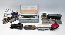 COLLECTIBLE MARKLIN TRAIN SET, including:  engine