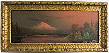 ELIZA R. BARCHUS OIL ON CANVAS (Oregon, 1857-1959)