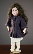 A FRENCH S.F.B.J. BISQUE HEAD GIRL DOLL, mold #60,