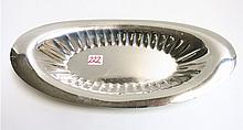 TOWLE STERLING SILVER BREAD TRAY, #5998. Length  1