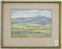 ROSS R. GILL GOUACHE ON PAPER (Washington/Californ