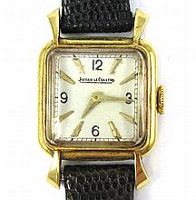 LADY'S SWISS JAEGER-LECOULTRE WRIST WATCH, having