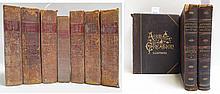 TEN COLLECTIBLE BOOKS: Three volume set