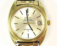 MAN'S VINTAGE SWISS OMEGA AUTOMATIC CONSTELLATION