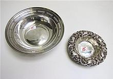 TWO STERLING SILVER BOWLS, Towle, #5280, 8.5