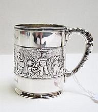 TIFFANY & CO. MAKERS STERLING SILVER CHILD'S CUP,