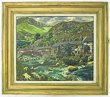 JOHN HOLROYD DYSON OIL ON BOARD (Canada, 1910-1993
