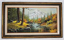 PATSEE PARKER OIL ON CANVAS (Oregon, 20th Century)