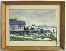 CHARLES MULVEY (OREGON, 1918-2001) ORIGINAL WATERC