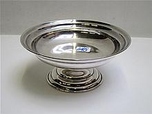 STERLING SILVER COMPOTE, marked Sterling, 970.