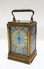 DROCOURT HOUR REPEATER CARRIAGE CLOCK, Pierre