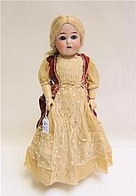 KAMMER & REINHARDT BISQUE HEAD DOLL, socket head