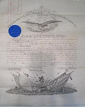 PRESIDENTIAL MILITARY COMMISSION, stamp signed And