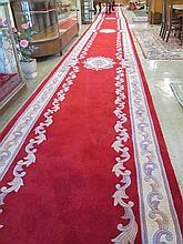 CHINESE PALACE HALL RUNNER, hand tufted, hand scul