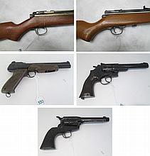 LOT OF FIVE AIR GUNS: Benjamin Air Rifle Co. model
