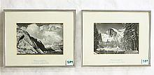 TWO PRINTS AFTER ANSEL ADAMS (California, 1902-198
