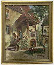 OTTO VON RUPPERT (Germany 1841-1923) OIL ON CANVAS