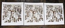 BEV DOOLITTLE, THREE OFFSET LITHOGRAPHS (Californi