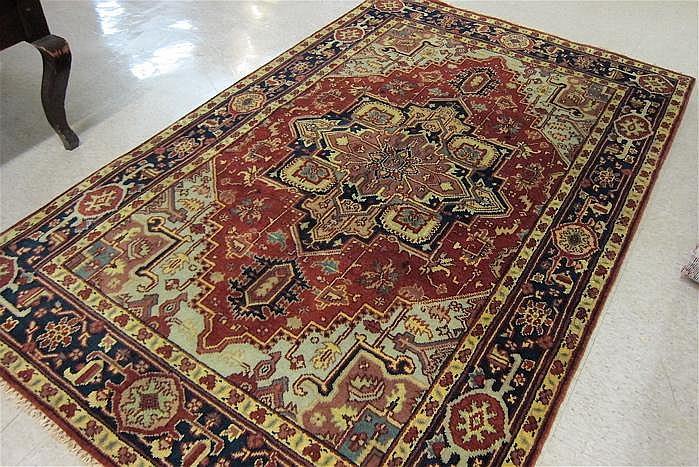 HAND KNOTTED ORIENTAL CARPET, Persian Serapi