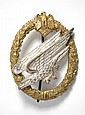 WORLD WAR TWO GERMAN NAZI ARMY PARATROOPERS BADGE,