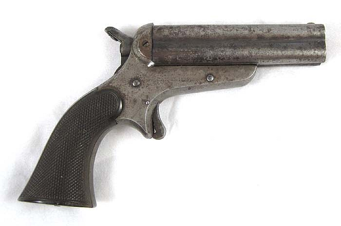 SHARPS & HANKINS MODEL 3 PEPPERBOX PISTOL, 32 rim