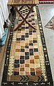 HAND KNOTTED ORIENTAL HALL RUG, Indo-Persian,