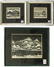ADOLF DEHN, THREE LITHOGRAPHS (New York/Minnesota,