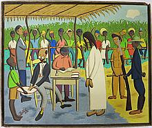 JEAN-BAPTISTE BOTTEX OIL ON BOARD (Haiti/United  S