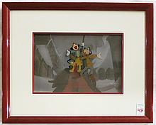 DISNEY PRODUCTION CELS:  THE PRINCE AND THE PAUPER