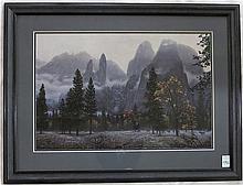 ROD FREDERICK OFF-SET LITHOGRAPH (Oregon, born 195