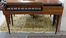 GERMAN ROSEWOOD CASE CLAVICHORD,