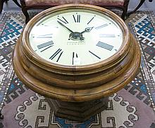 ROUND CLOCK-TOP OCCASIONAL TABLE, Korean made, 20t