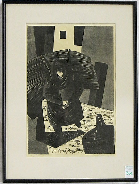 DEMETRIOS JAMESON LITHOGRAPH (Oregon, 1919-1996)