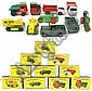 TEN MATCHBOX TOY VEHICLES including two each of