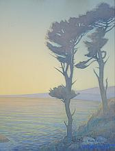 FERDINAND BURGDORFF WATERCOLOR ON PAPER (Californi