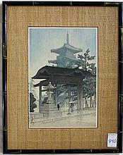 HASUI KAWASE WOODCUT (Japan, 1883-1957)
