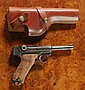 DWM 1923 MODEL FINNISH LUGER, 7.65 mm (30 luger) caliber, 3 7/8