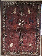 PERSIAN QASHQAI TRIBAL AREA RUG, Shiraz region,