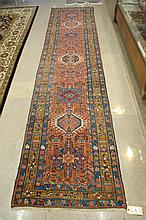 SEMI-ANTIQUE PERSIAN KARAJA RUNNER, Karaja village