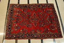 SEMI-ANTIQUE PERSIAN SAROUK AREA RUG, Arak