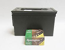 SIX BOXES OF REMINGTON AMMUNITION, 22 long rifle